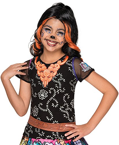 Rubie's Disfraz de Monster High Skelita Calaveras Foto Real Costume Top Costume, Estándar