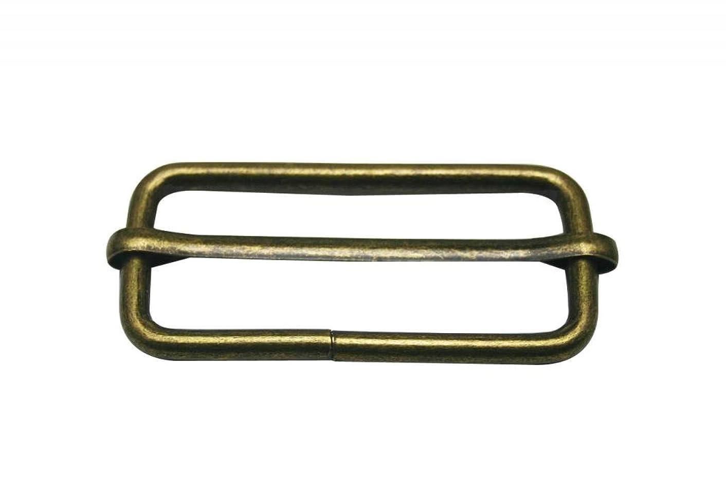 Generic Metal Bronze Rectangle Buckle 2