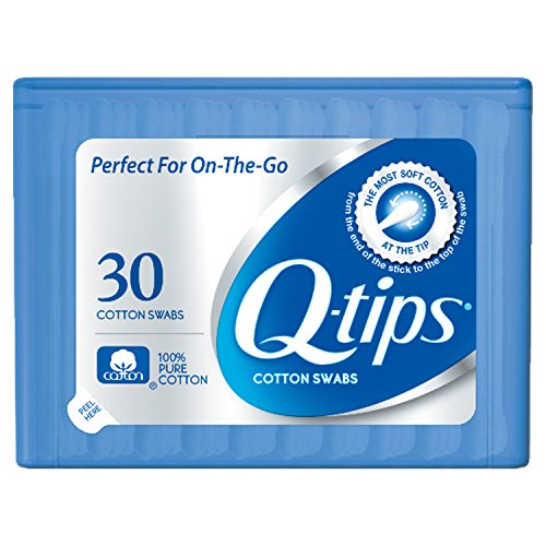 Price comparison product image Q-tips Swabs Travel Pack, 30 Count,  Pack of 1