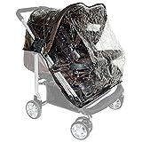 Zekiwa Regenhülle für Kinderwagen Modell ALU Twice