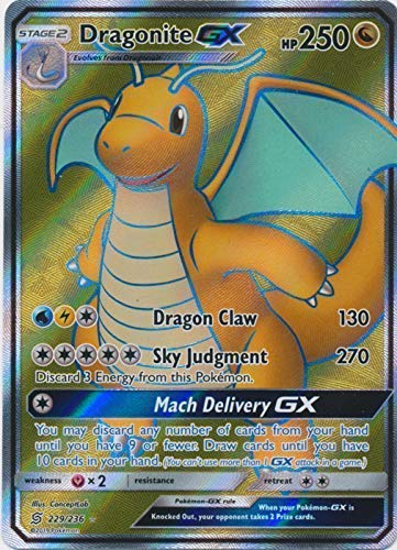 Dragonite GX - 229/236 - Full Art Ultra Rare - Unified Minds