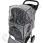 Easipet Rain Cover Pet Stroller 14