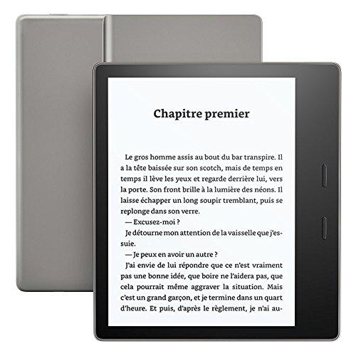 Kindle Oasis, Résistant à l'eau, 8 Go Wi-Fi,...