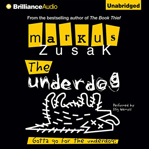 The Underdog audiobook cover art