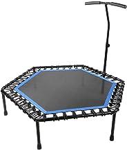 Zeshoekige fitness-trampoline, cardiotrampolines Trainer met verstelbare handgreep String-trampoline Indoor Entertainment-...