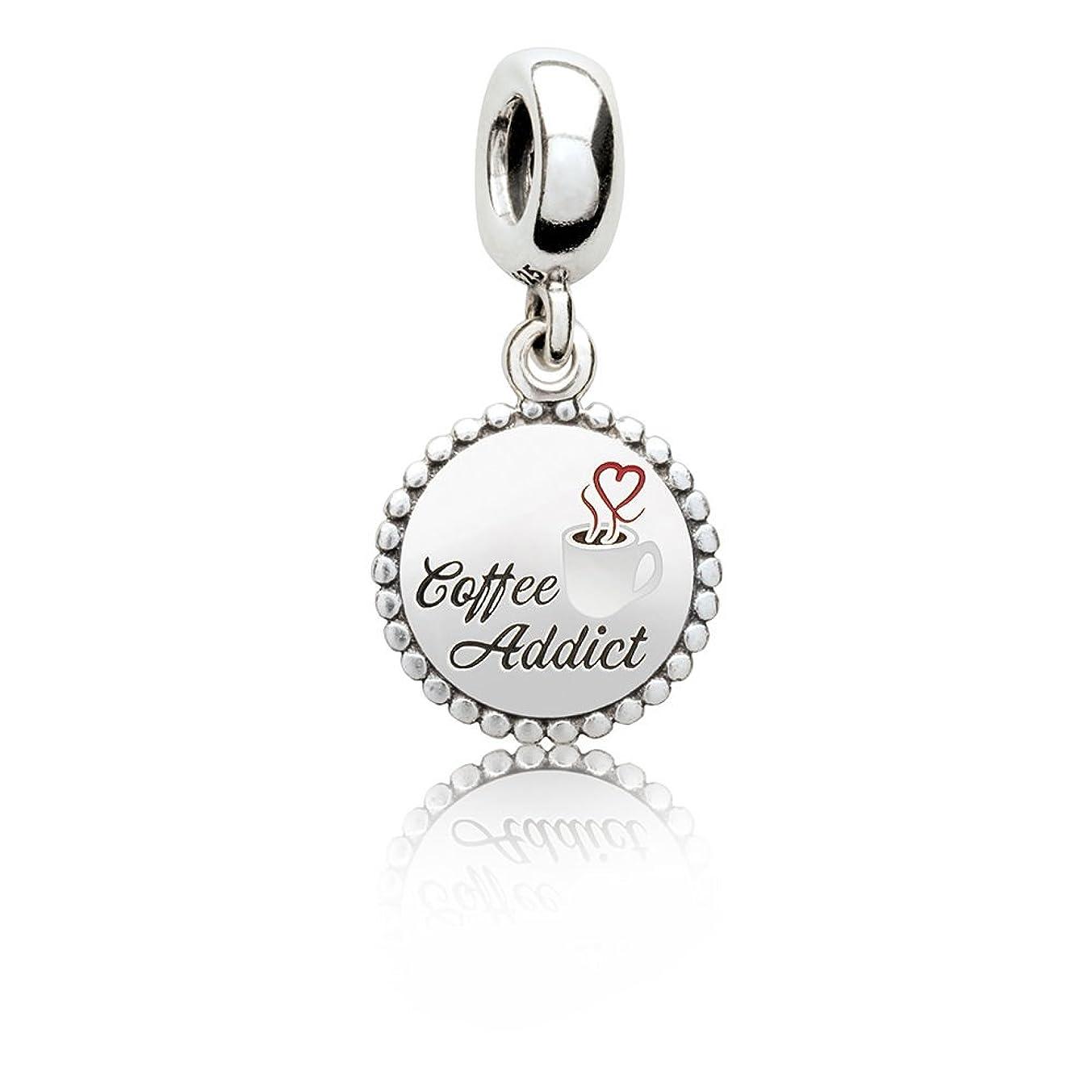 Pandora dangle charm bead Coffee Addict ENG791169_44