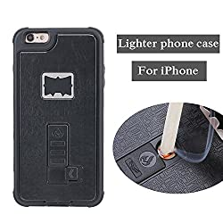 cheap Case for iPhone 7, multi-functional built-in cigarette lighter and bottle opener. Impact protection …