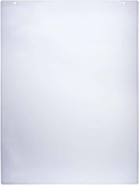 Sign Holder Sleeve 24 1 2 X 36 1 4 Inch Clear Plastic Poster Frame Accommodates 24 X 36 Inch Images Sold In Case Packs Of Five Units Signage Display Cover Includes Double Sided Tape
