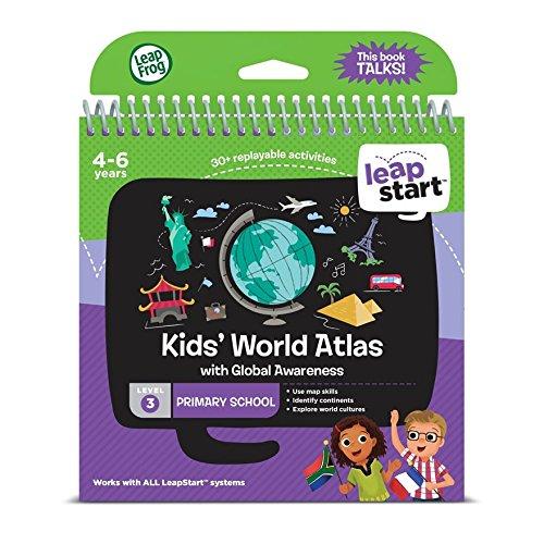 Leapfrog Leapstart l'école primaire livre d'activités : Kids 'World Atlas mondiale avec Conscience
