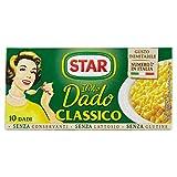 Star - Dado, Classico, ricco di sapore, verdure e olio extravergine d'oliva - 100 g  10 da...