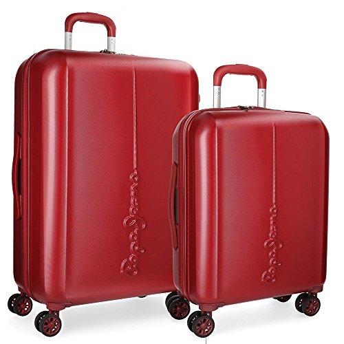 Cambridge Koffer-Set, 70 cm, 115 liters, Rot (Rojo)