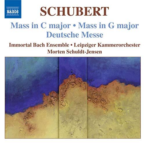 SCHUBERT: Messen in C-und G-Dur/Dt.Messe