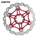 housesweet Rotor de Freno de Disco de Bicicleta Rotor de Freno de Disco de Bicicleta de Acero Inoxidable con 6 Pernos para Bicicleta Bicicleta de Carretera Bicicleta de monta/ña BMX MTB