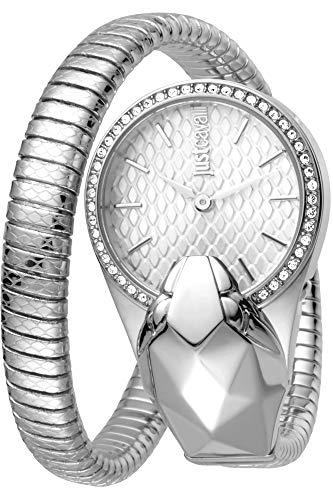 Reloj Just Cavalli Glam Time JC1L067M0015 - Analógico Cuarzo para Mujer en Acero Inoxidable