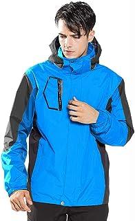 LUOLUO Men's Jacket Mountain Waterproof Jackets Windproof Rain Jackets