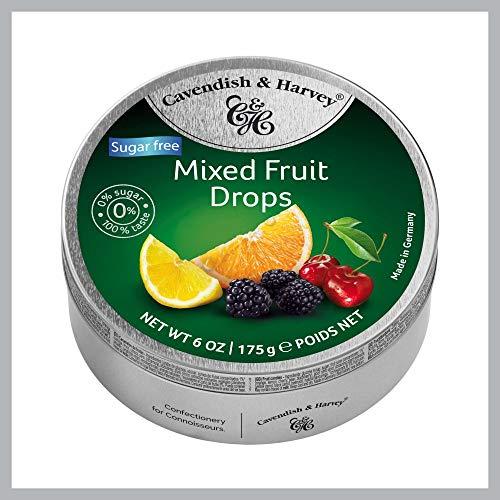 Cavendish und Harvey Mixed Fruits Zuckerfrei 1 x 175 g