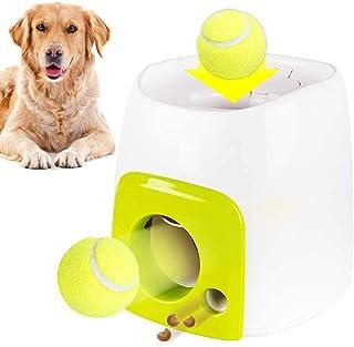 Lanzador de pelotas interactivo para perros, juguete