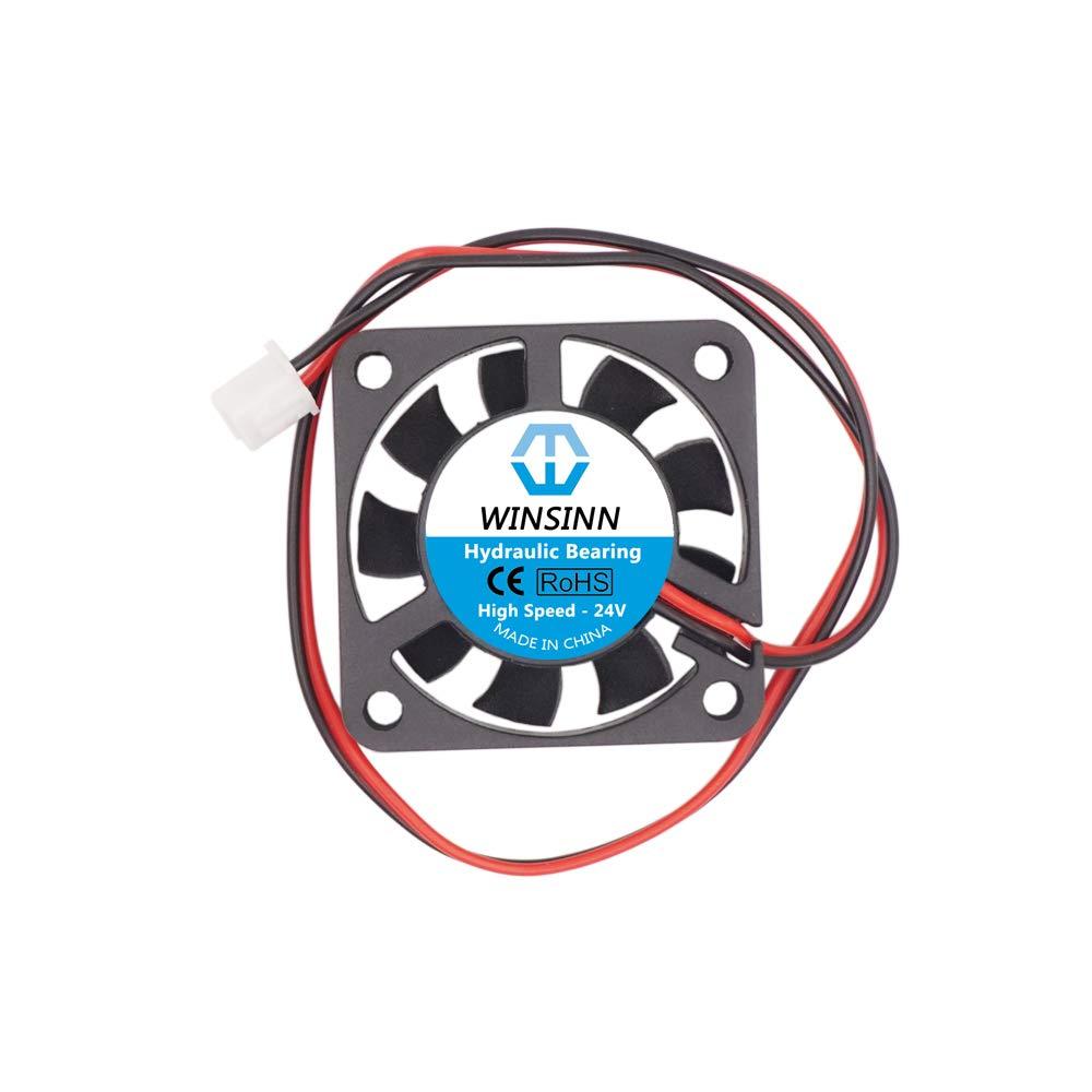 WINSINN 3010 4010 12 V 24 V DC silencioso Ventilador de ...