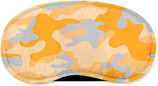 Colored Camouflage Orange - Sleeping Mask - Sleeping Mask