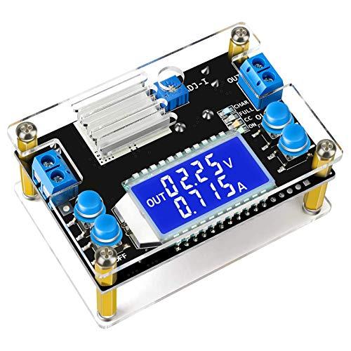 ZHITING - Convertitore Buck da 12 V a 5 V, regolatore di tensione DC 6,5 – 36 V, 24 V, passo verso il basso a DC 1,2 V-32 V, 12 V, riduttore trasformatore 4,5 A, 75 W, modulo di alimentazione CC CV