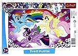 TREFL Puzzle ramkowe 15 el. - My Little Pony, Zabawa kucykĂlw [Puzzle]