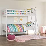 Storkcraft Caribou Solid Hardwood Twin Bunk Bed with Ladder...