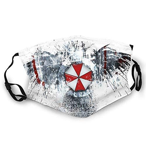 Fashion Resident Evil Umbrella Corporation Hochspannungs-Röhrenhals-Gamaschenschal Männer Frauen Gesicht Bandana-Abdeckung für Masken