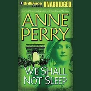 We Shall Not Sleep audiobook cover art