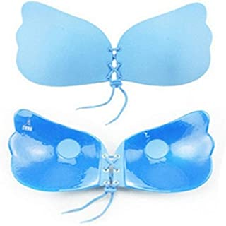 jkbfyt Strapless Bra Self Adhesive Backless Bras Silicone Push up Bra for Women