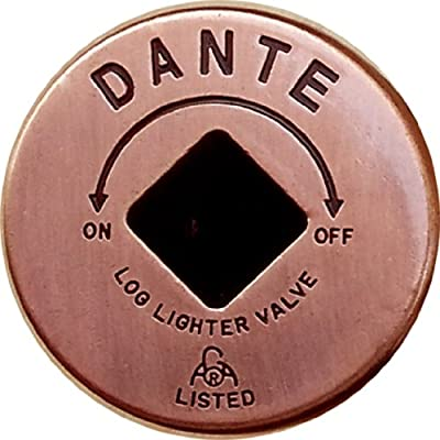 Dante Products FP.GV.AC Antique Copper Floor Plate for Dante Globe Valve by Dante Products