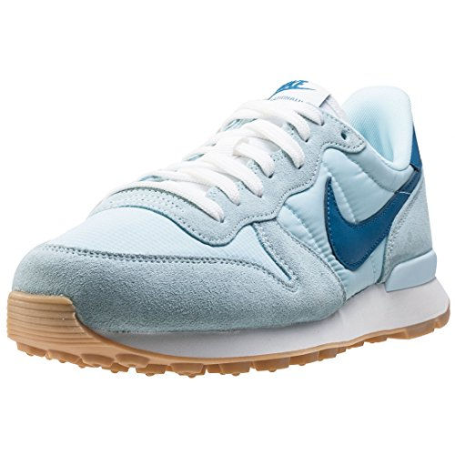Nike Damen WMNS Internationalist Sneaker, Blau (Glacier Blue/Industrial Blue), 38 EU
