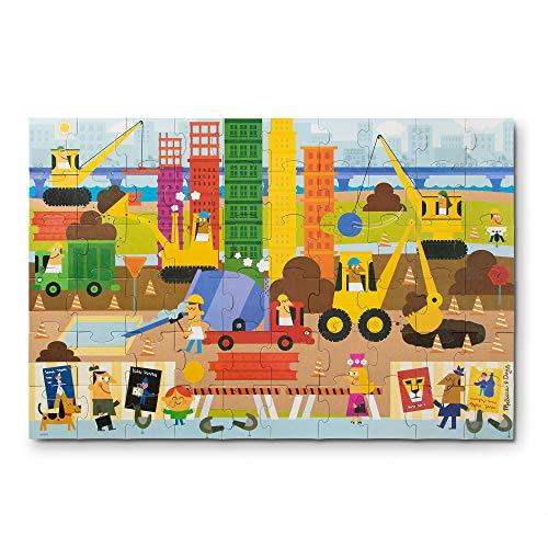 Melissa & Doug Natural Play 60pc Giant Floor Puzzle - Big Builder