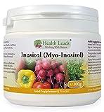 100% Pure Inositol (Myo-Inositol) Powder 300g (Vegan) from Health Leads UK