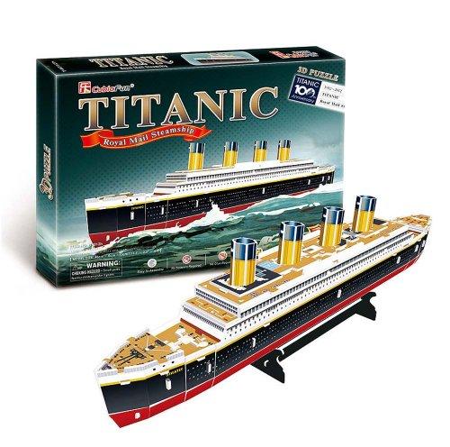 3D three-dimensional puzzle Titanic M size (japan import)