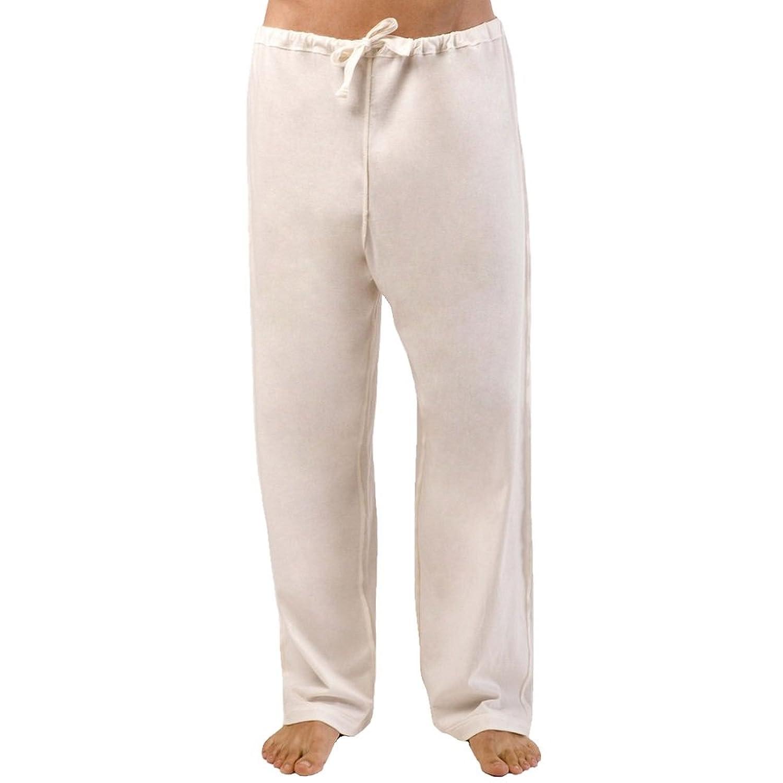 100%オーガニックコットン コトニーク メンズ パジャマ ストリングパンツ