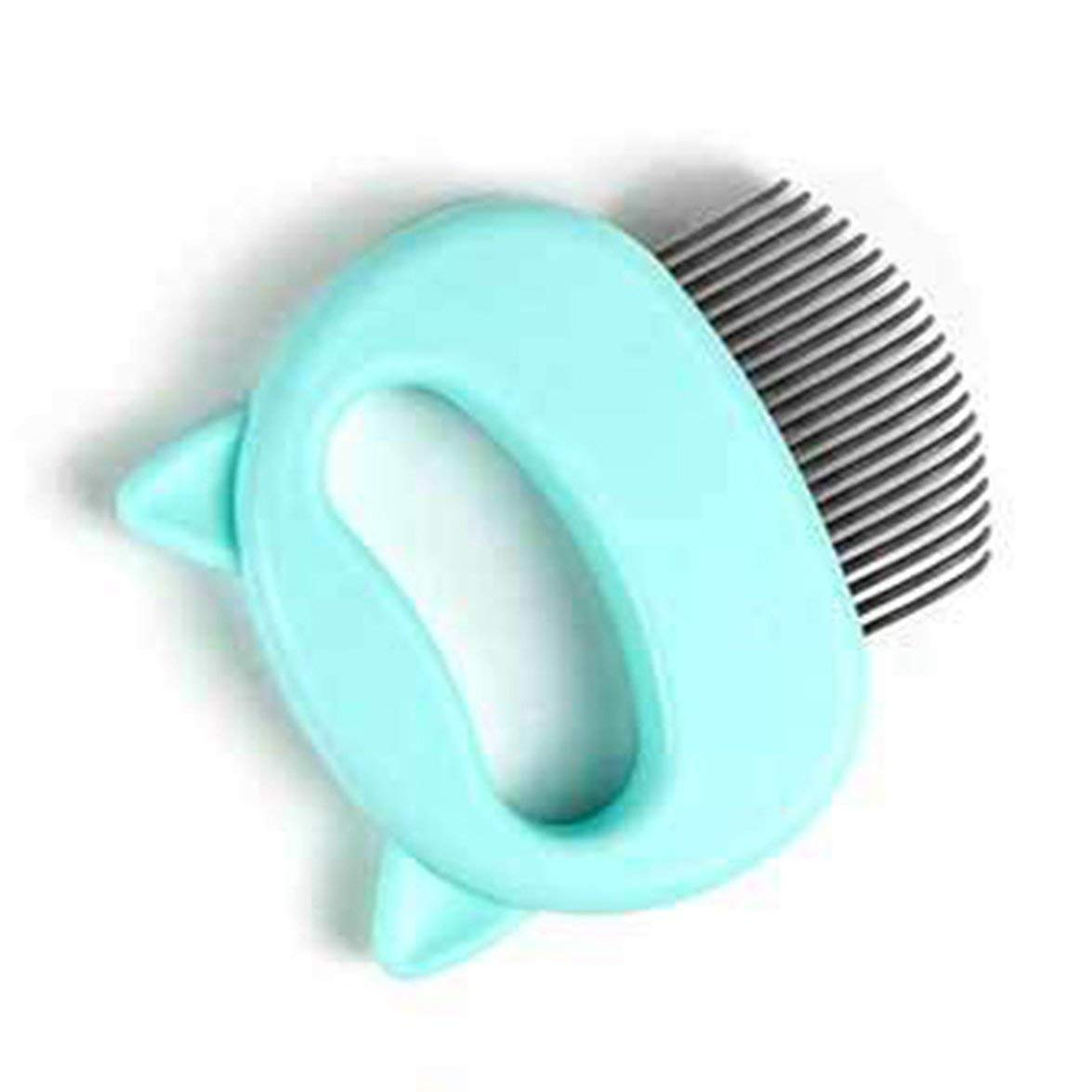 Romirofs Cat and Dog Shaving Massage Comb Pet Hair Removal Massaging Shell Comb Special Shaving Artifact Pet Artifact Shell Comb