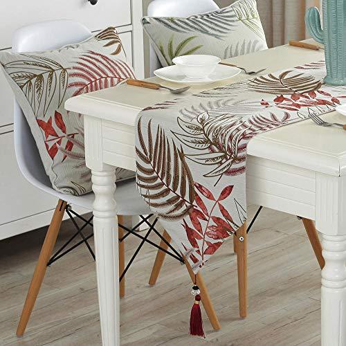 Branfan Tafel lopers Nordic stijl tafel salontafel lopers eenvoudige moderne tafelkleed TV kast decoratie doek 33 * 250CM_1