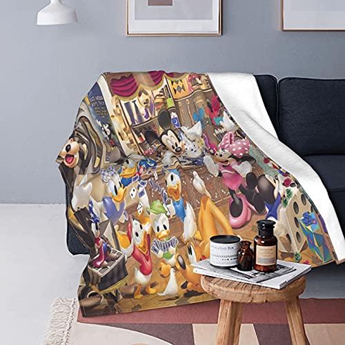 Disney Characters - Manta de forro polar ultrasuave (125 x 150 cm)