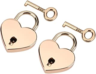 rose gold combination lock