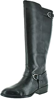Lauren by Ralph Lauren Womens Margarite Almond Toe Mid-Calf Fashion Boots