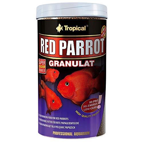 Tropical Red Parrot granulado, 1er Pack (1x 1000ml)
