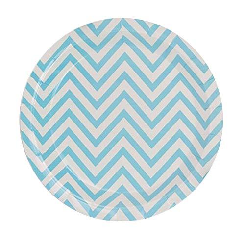 Plato de papel desechable para pícnic, celebración, fiesta, picnic, reunión, plato portátil para llevar (A6: 17 cm, 12 unidades)