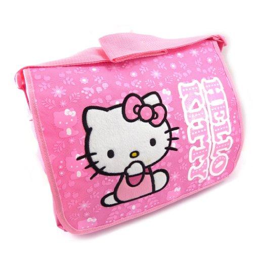Hello Kitty [K3764] - Sac créateur 'Hello Kitty' Rose - 36x28x7 cm