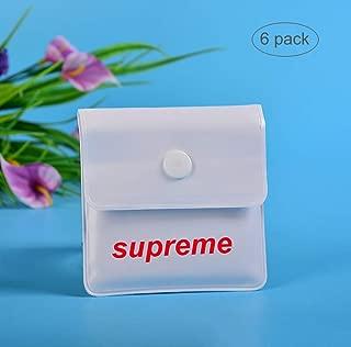 cendrier /à Vent en Plastique Noir et Blanc 02 pi/èces - Blanc//Noir /Ø 10cm com-four/® 2X Sturmaschenbecher