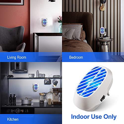 La'prado F Anti, LED Répulsif Tueur 500 Sq EU Indoor Plug-in, Chimique, Piège à Abeilles pour, Maison, Jardin,Bureau (Blanc)