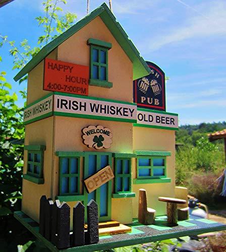 HÜWÜKNÜ Vogelhaus, Nistkasten, Irish Pub`