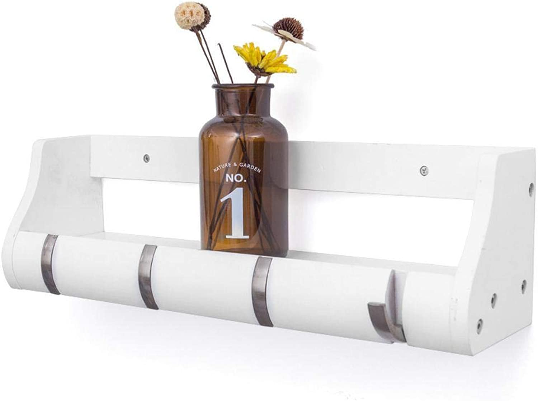 Yunfeng Shelf Creative European-Style Wall Rack Bathroom Bedroom Living Room Storage Hook Hanger
