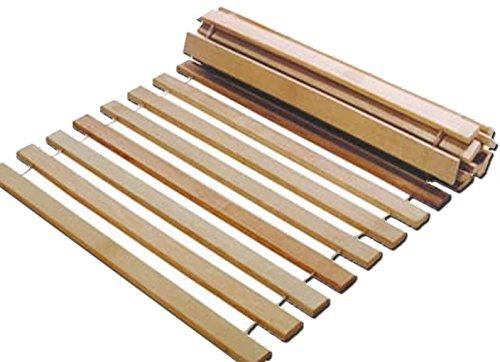 Rollrost 140x200 14 Leisten nicht verstellbar unverstellbar Fichtenholz Rolllattenrost