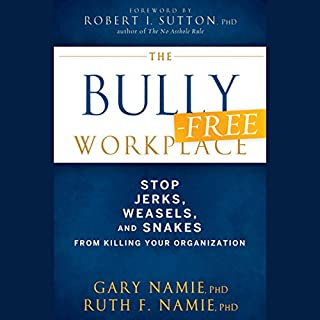 The Bully-Free Workplace cover art