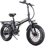 Bicicletas Eléctricas, Bicicleta eléctrica E-Bikes plegable 350W 48V, ligero plegable de la aleación de la ciudad for bicicleta todo terreno con pantalla LCD, for viajes for hombre ciclo al aire libre